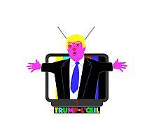 Trump l'oeil Photographic Print