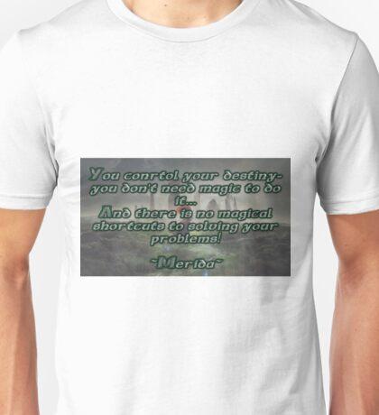 Brave Quote Unisex T-Shirt