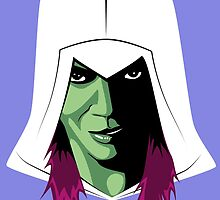 Gamora's creed by Clownface