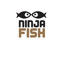 The Ninja Fish T by ninjafish