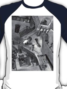 Escher's Asylum of the Daleks T-Shirt