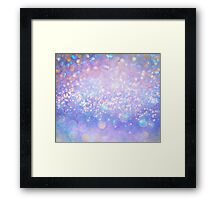 Leave a Little Sparkle (Dream Dust) Framed Print