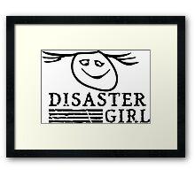 Disaster Girl VRS2 Framed Print