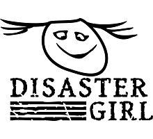 Disaster Girl VRS2 Photographic Print