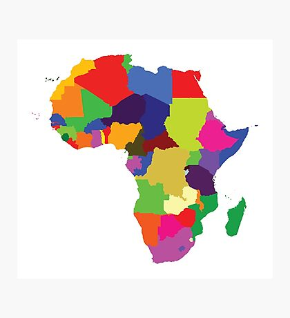 Africa (Continent) Photographic Print