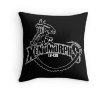 LV-426 Xenomorphs Throw Pillow