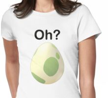 Oh? Pregnant Pokemon Go shirt Womens Fitted T-Shirt