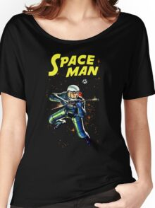 Space Man vintage Women's Relaxed Fit T-Shirt