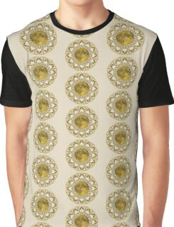 GOLD MOON MANDALA Graphic T-Shirt