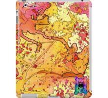 Yellow Splatagram iPad Case/Skin