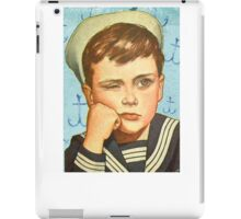 Retro Sailor Boy iPad Case/Skin