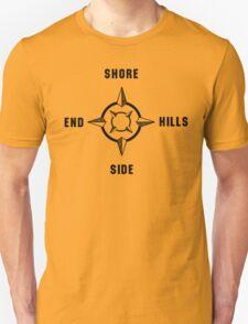 Dahntahn Compass (Pittsburgh) Unisex T-Shirt