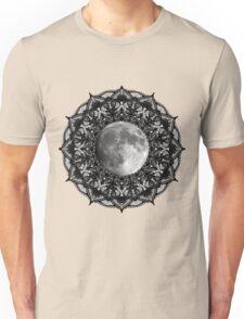 SILVER MOON MANDALA Unisex T-Shirt