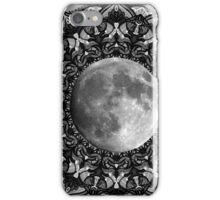SILVER MOON MANDALA iPhone Case/Skin