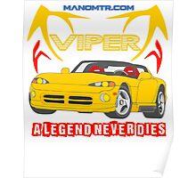 A Legend Never Dies (D-VPR) Poster