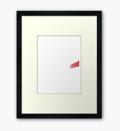 3DW Framed Print
