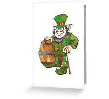 IRISH LEPRECHAUN Greeting Card