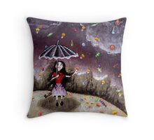 Can it rain forever? Throw Pillow