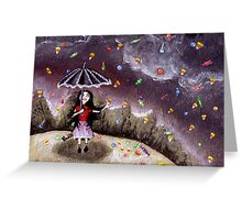 Can it rain forever? Greeting Card