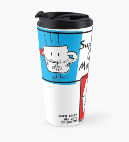 SUPER COFY MAN Travel Mug! Travel Mug