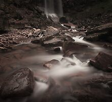 Melincourt falls Resolven south Wales by leightoncollins