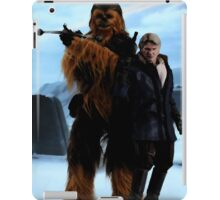 Han and Chewie, Starkiller Base iPad Case/Skin