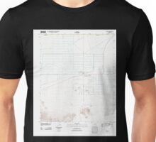 USGS TOPO Map Arizona AZ Aguila 20111025 TM Unisex T-Shirt