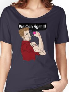 We can fight it! Women's Relaxed Fit T-Shirt