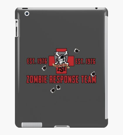Zombie Squad Elite Badge iPad Case/Skin