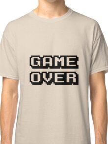 Game Over digital design Classic T-Shirt
