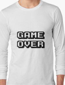 Game Over digital design Long Sleeve T-Shirt