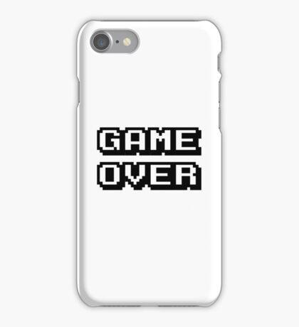 Game Over digital design iPhone Case/Skin