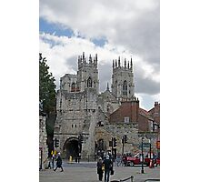 York Minster and Bootham Bar Photographic Print