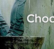 Choose Life | Trainspotting | Irvine Welsh Sticker