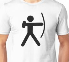 Stickman Archer Unisex T-Shirt