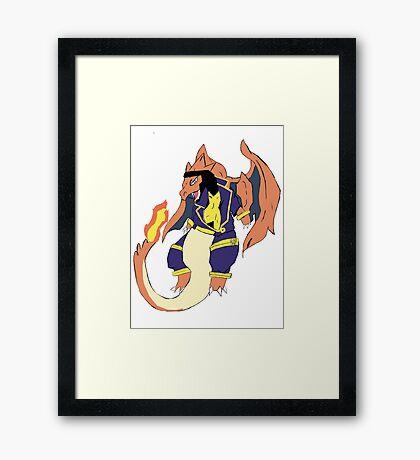 Havok Y  Framed Print