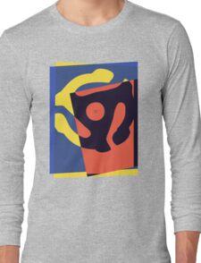 Pop Art 45 Symbol 1 Long Sleeve T-Shirt