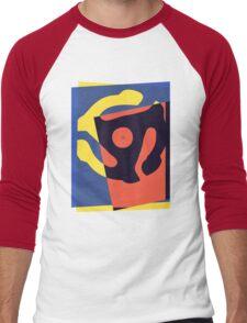 Pop Art 45 Symbol 1 Men's Baseball ¾ T-Shirt