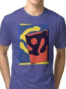 Pop Art 45 Symbol 1 Tri-blend T-Shirt