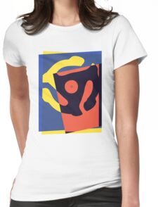Pop Art 45 Symbol 1 Womens Fitted T-Shirt