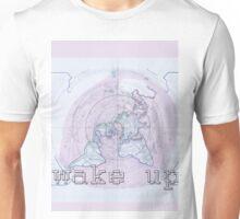 WAKE UP - FLATPLANE DESIGN #1 Unisex T-Shirt