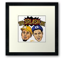 SUPER SPLASH BROS  Framed Print