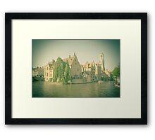 Bruges - Belgium Framed Print