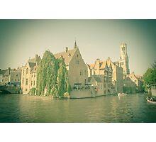 Bruges - Belgium Photographic Print