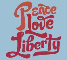Peace Love Liberty Kids Clothes