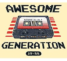 Awesome Generation Photographic Print