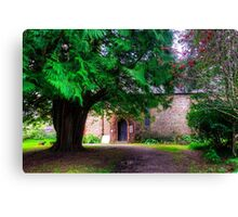 Church in the Trees Canvas Print