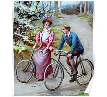 VINTAGE, Cyclists, Cycle, History, Bicycle, Racing Bike, Road Bike,  Poster