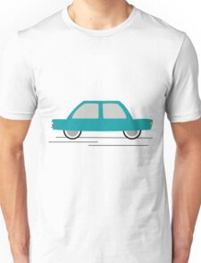 Travel In Speed Of Car Unisex T-Shirt