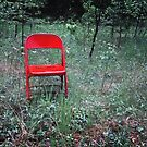 Red Metal Chair by Nazareth